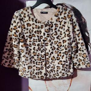 NEW Cheetah Coat